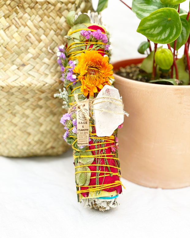 Sage & Clarity Bee's Sneeze Herbal Torch