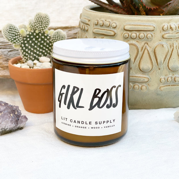 Girl Boss 8oz Candle