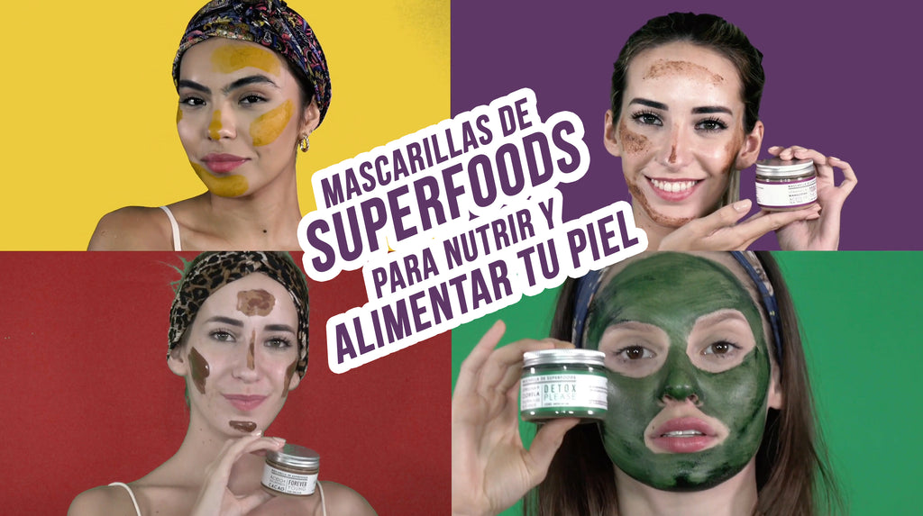 mascarillas de superfoods