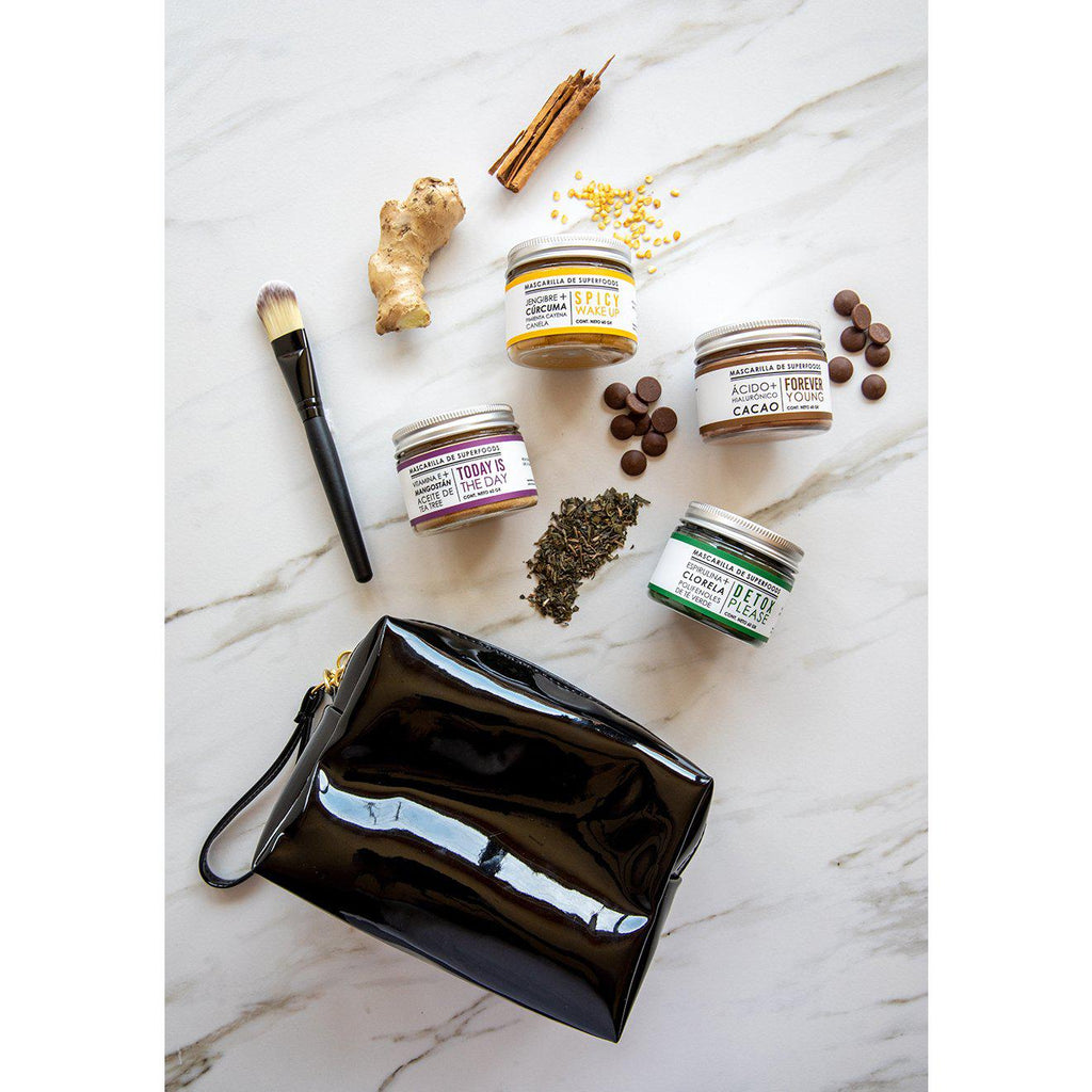 Beauty Kit: 4 Mascarillas de SuperFoods ¡Envío Gratis!