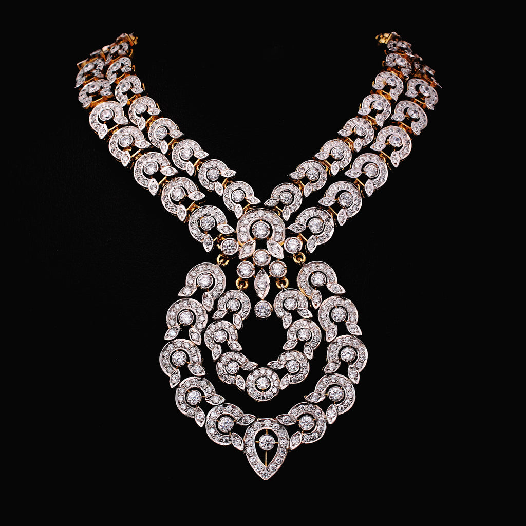 Necklace in Cubic Zircons