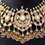 Load image into Gallery viewer, Necklace with Kundan and Pearls