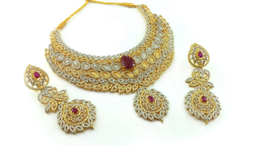 Bridal set in chetum-861