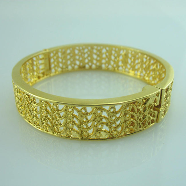 bangle with filigree work-0