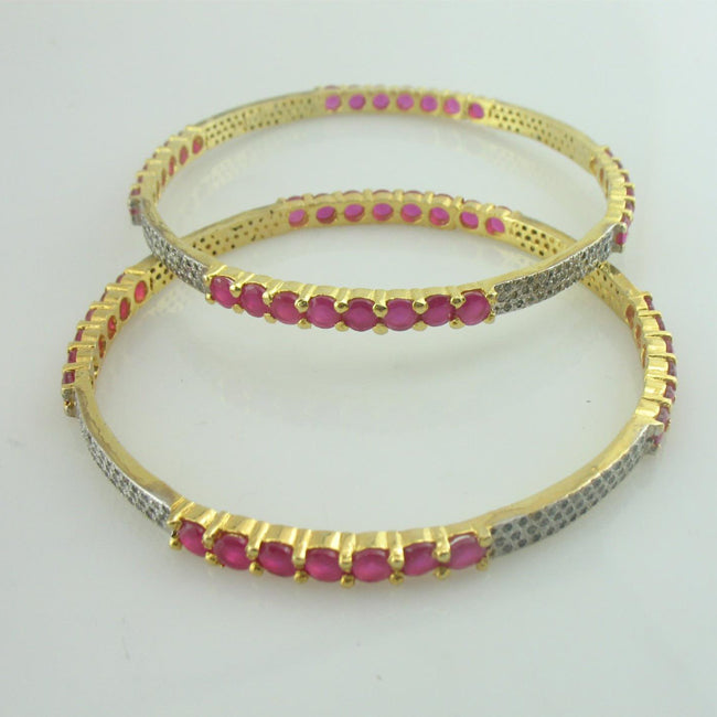 bangles in chetum and zircons-0