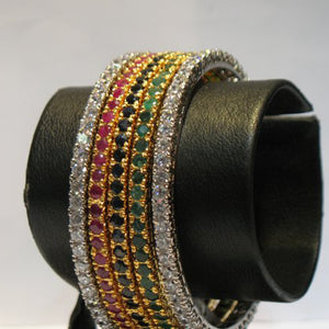 Bangle set in multi colour-0