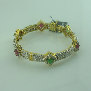 Bangle in semi precious stones-0