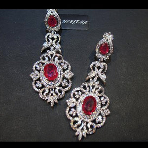 Earrings in chetum-0