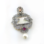 Load image into Gallery viewer, LOCKET IN MULTICOLOURS-1069