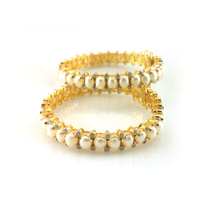 BANGLE IN PEARLS-0