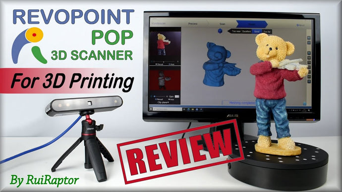 <transcy>Tutti i test e le revisioni - Revopoint POP 3D SCANNER</transcy>