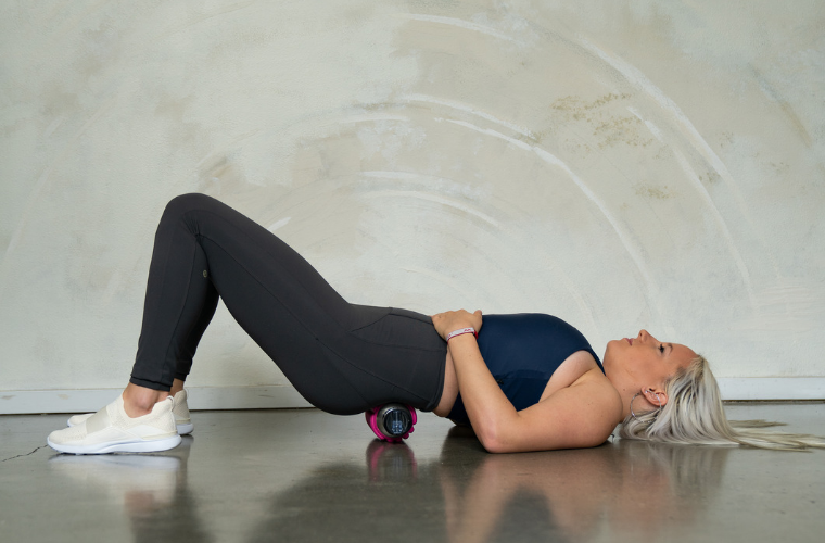 How to foam roll your Sacrum