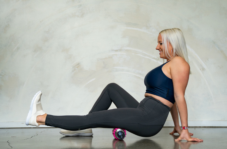 How to foam roll your hamstrings
