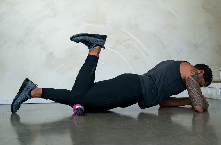 How to foam roll your Quads