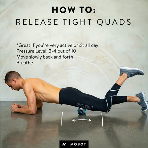 foam rolling for runners quads