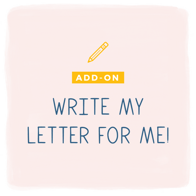 Thumbnail for add on product: Write my letter for me