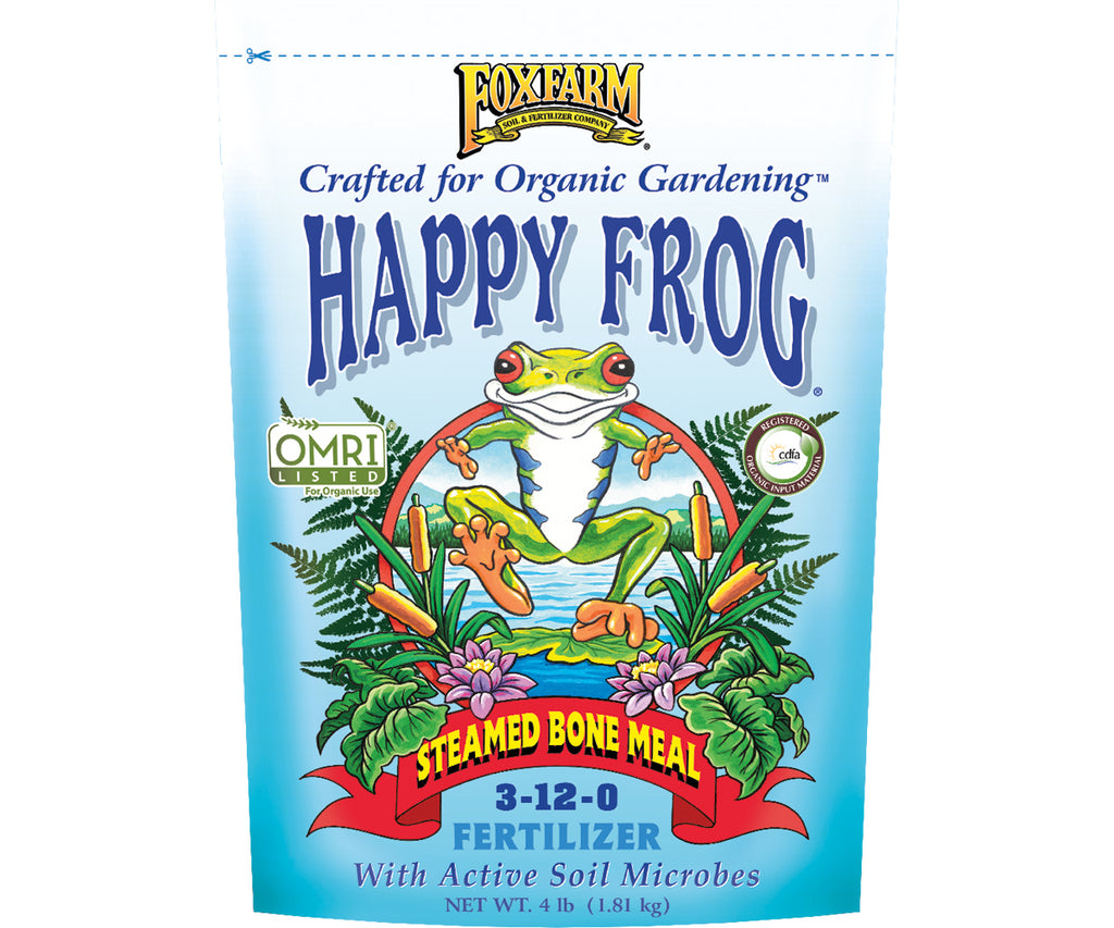 FoxFarm Happy Frog Steamed Bone Meal Fertilizer