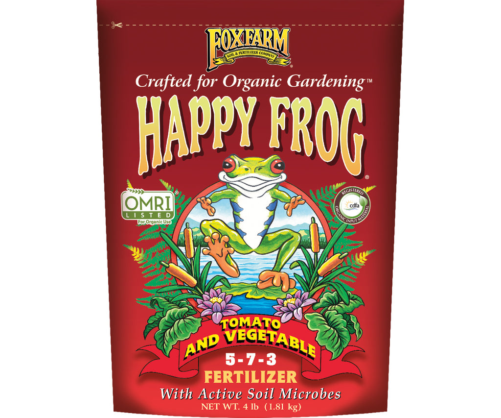 FoxFarm Happy Frog Tomato & Vegetable Fertilizer