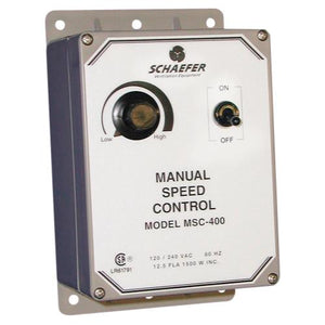Schaefer Manual Fan Speed Controller