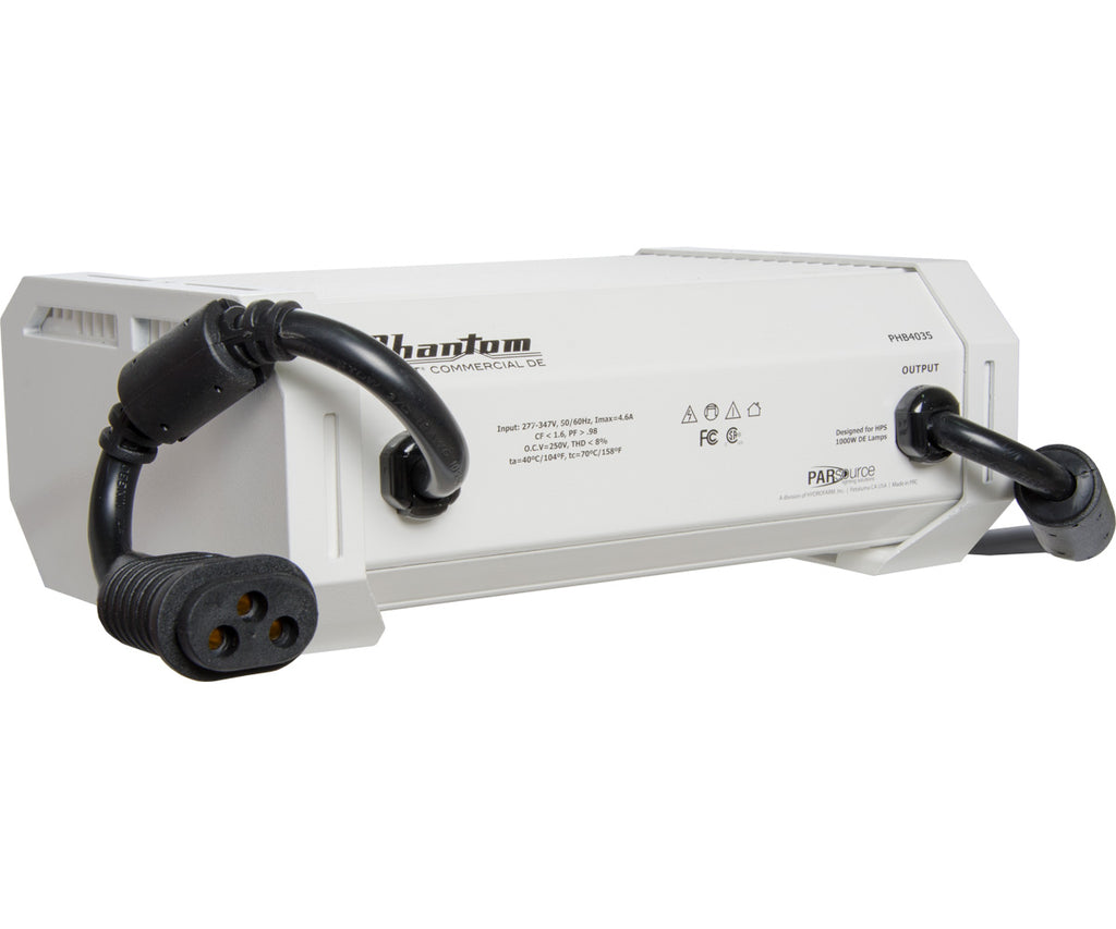 Phantom Commercial DE 1000W HPS Digital Ballast