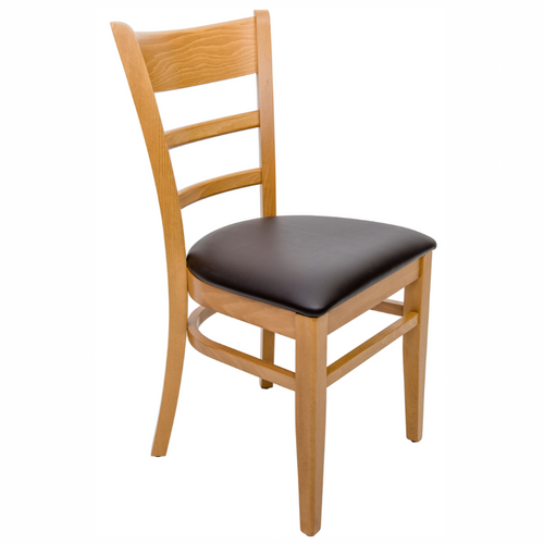 Hudson wooden restaurant dining chair - Tiger Furniture