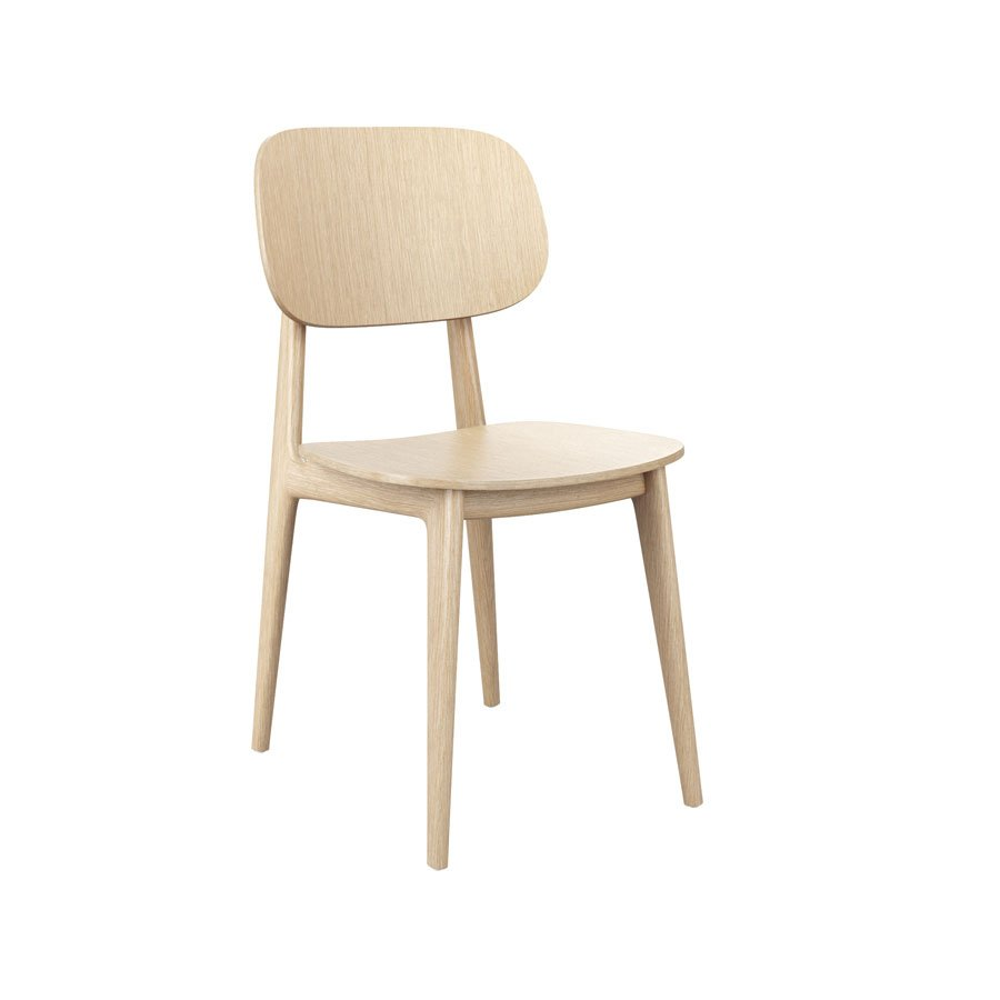 RAW Beech Cafe Chair - Tiger Furniture