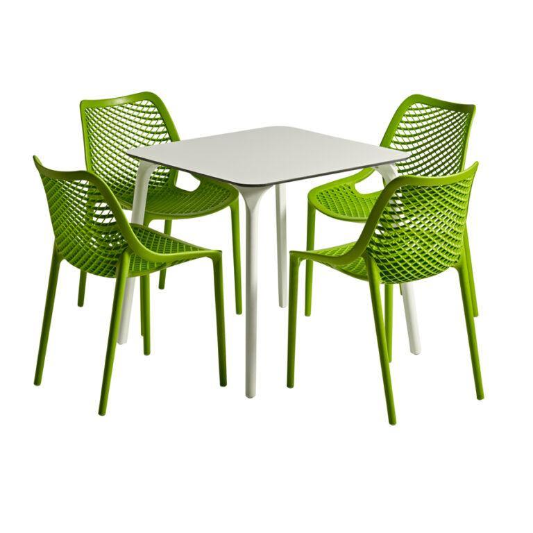 Air - Tropical Green Dining Set | Tiger Furniture UK