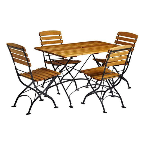 Arch | Wrought Iron Dining Set | Tiger Furniture UK