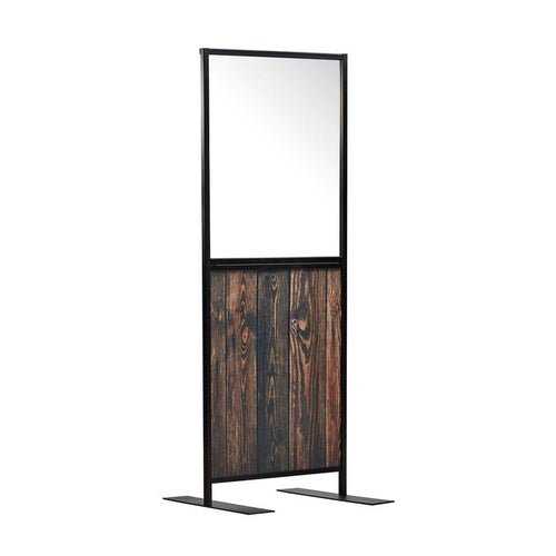Aura-Hospitality-Partition-Small-Screen_Wood-Effect-2