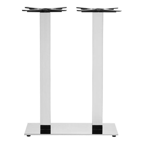 Boston-Sleek-Base-Mirrored-Chrome-Large-Rect-Mid-Height-table base