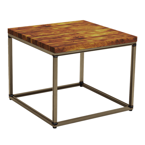 Byron Rustic Pine Coffee Table - Square - Tiger Furniture