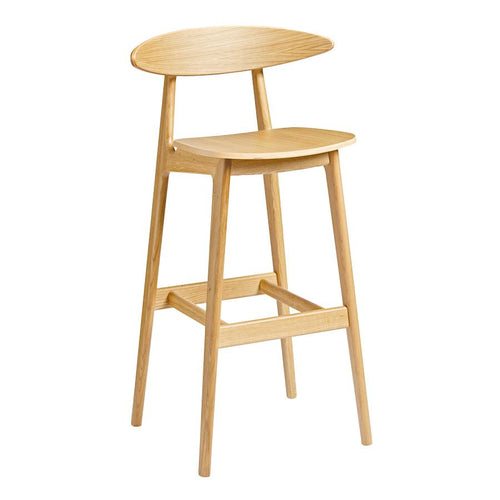 Carcher-oak-Bar-Stool-tiger furniture