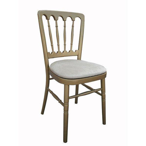 Cheltenham Banquet Chair - Gold