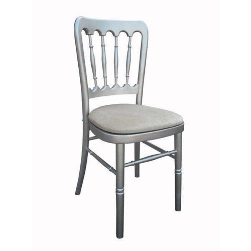 Cheltenham Chair - Silver