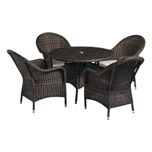Clova Rattan Dining Set | Tiger Furniture UK
