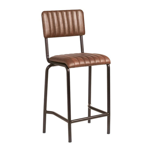 Vintage Bar Stool - CORE Mid Bar Stool – Vintage Brown