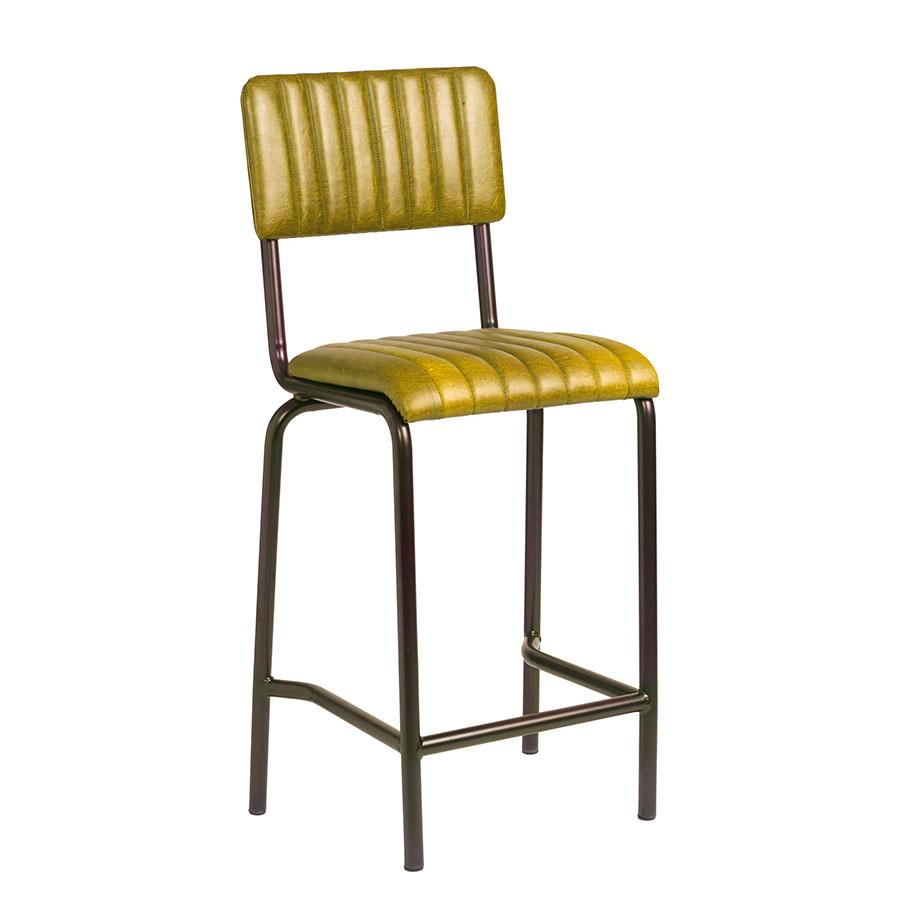 Vintage Bar Stool - CORE Mid Bar Stool – Vintage Gold
