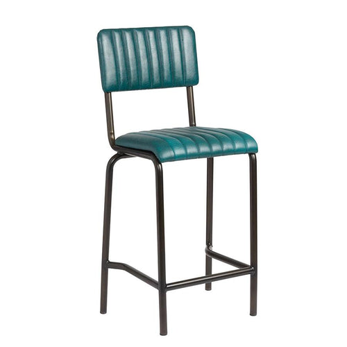 Vintage Bar Stool - CORE Mid Bar Stool – Vintage Teal