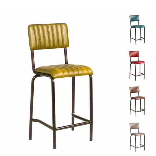Vintage Bar Stool - CORE Mid Bar Stool – 5 Vintage Colours