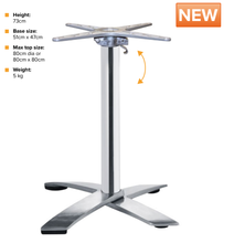 Load image into Gallery viewer, DURANCE Flip Top Table Base | Tiger Furniture UK
