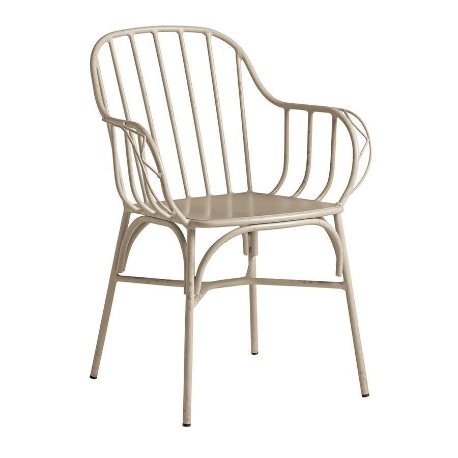 DENVER Arm Chair – Retro White - Cafes - Bars - Restaurants - Tiger Furniture