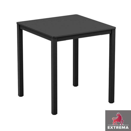 Black Hotel Dining Table-Square