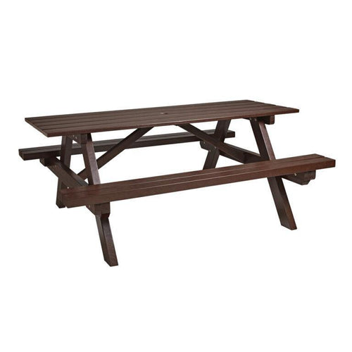 GREENWAY Recycled Picnic Bench | Tiger Furniture UK