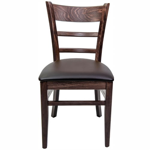 Hudson Walnut Restaurant Dining Chair - Tiger Furniture