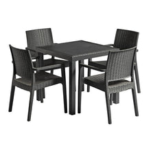 Load image into Gallery viewer, IBIZA Rattan Dining Set -Dark Grey | Tiger Furniture UK
