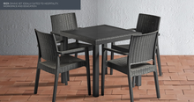Load image into Gallery viewer, Grey Rattan Dining Set | Tiger Furniture UK
