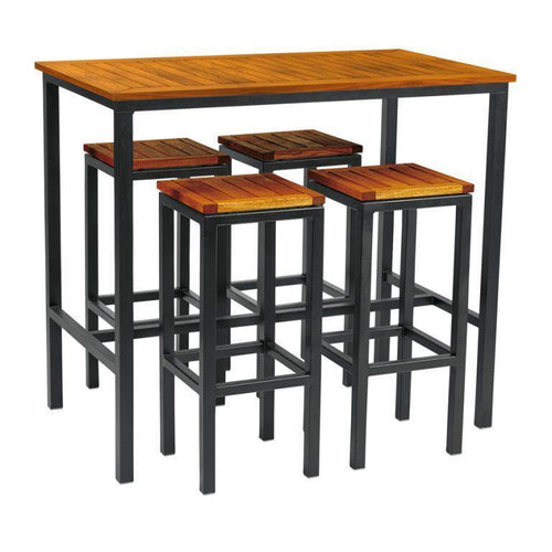 ICE High Stool Dining Set | Pubs | Restaurants| Bars | Tiger Furniture UK