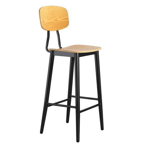 JUNA Oak Bar Stool - Tiger Furniture