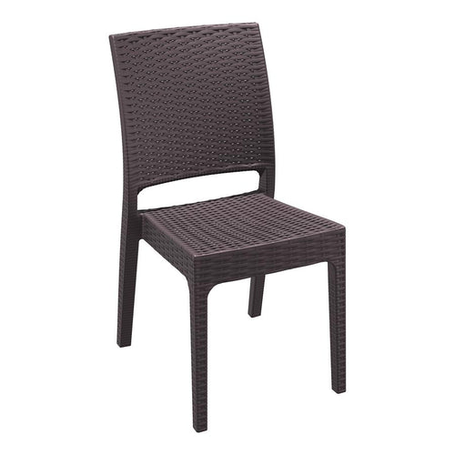MINT Rattan Restaurant Chair - Brown