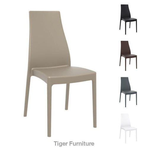 MIRANDA Side Chair – Contract Plastic Side Chair | Tiger Furniture